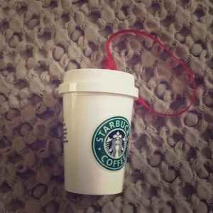 Starbucks Mini Coffee Ornament